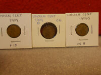 LINCOLN CENTS  1929-S - 1929-D & 1929