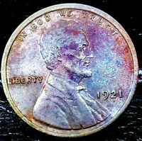 1921 LINCOLN WHEAT CENT CENT-