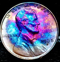 1935-S LINCOLN WHEAT CENT CENT-