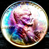1941-S LINCOLN WHEAT CENT CENT-