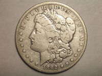 1892 S MORGAN DOLLAR 90 SILVER