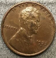 1933 D LINCOLN WHEAT CENT PENNY - HIGH GRADE DETAILS  FREE SHIP. X599