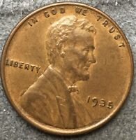 1935 P LINCOLN WHEAT CENT PENNY - HIGH GRADE  FREE SHIP. A581