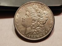 1904 P MORGAN SILVER DOLLAR