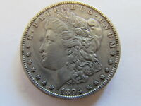 1894 MORGAN SILVER DOLLAR PHILADELPHIA MINT $1 AU ABOUT UNC  TOUGH COIN
