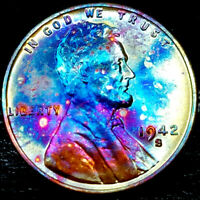 1942-S LINCOLN WHEAT CENT CENT-