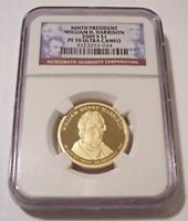 2009 S WILLIAM H HARRISON PRESIDENTIAL DOLLAR PROOF PF70 UC NGC