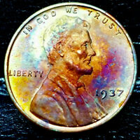 1937 LINCOLN WHEAT CENT CENT-