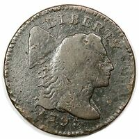 1795 S 74 R 4  LETTERED EDGE LIBERTY CAP LARGE CENT COIN 1C