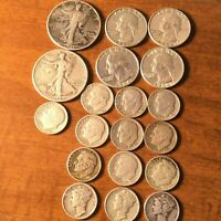 US SILVER COIN LOT