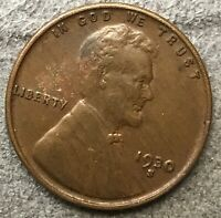 1930 S LINCOLN WHEAT CENT PENNY - ENVIRONMENTAL STRESSED  FREE SHIP. B721
