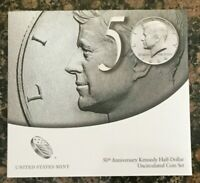 2014 P&D KENNEDY HALF DOLLAR 50TH ANNIVERSARY SET UNCIRCULATED  K14  SEALED NEW