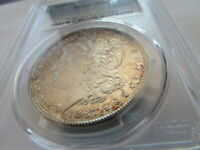 1887 S MORGAN SILVER DOLLAR PCGS MINT STATE 63 GORGEOUS SEMI PL SURFACES $1 COIN MINT STATE 63