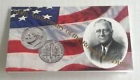 1996 W ROOSEVELT DIME 50TH ANNIVERSARY WEST POINT IN ORIGINAL MINT CELLO W COA