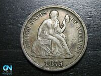 1875 CC SEATED DIME --  MAKE US AN OFFER  B2244