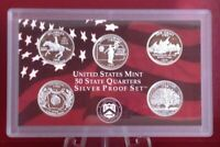 1999 S SILVER PROOF WASHINGTON STATE QUARTER GEM PROOF DCAM 5 COIN SET 1ST YEAR