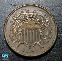 1864 2 CENT PIECE      MAKE US AN OFFER   B2964