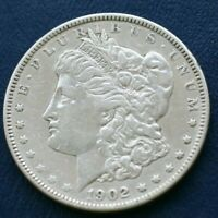 1902 MORGAN SILVER DOLLAR  FINE DETAILS   SEE SHIPPING SPECIAL BELOW