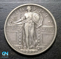 1917 S TYPE 1 STANDING LIBERTY QUARTER  --  MAKE US AN OFFER  B3205