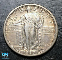 1917 S TYPE 1 STANDING LIBERTY QUARTER  --  MAKE US AN OFFER  B3219