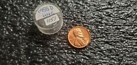 1955D LINCOLN WHEAT CENT  UNC RED BU