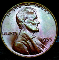 1955-D LINCOLN WHEAT CENT CENT-