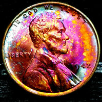 1942 LINCOLN WHEAT CENT CENT-