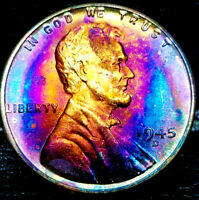 1945-D LINCOLN WHEAT CENT CENT-
