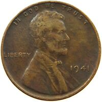UNITED STATES CENT 1941 LINCOLN A14 093