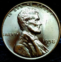 1958-D LINCOLN WHEAT CENT CENT-