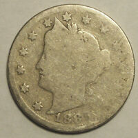 1889 LIBERTY NICKEL