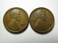 TWO 1928-S LINCOLN WHEAT CENTS