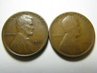1911 AND 1912 LINCOLN WHEAT CENTS