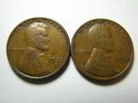 TWO 1933 LINCOLN WHEAT CENT