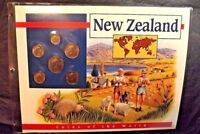 6  NEW ZEALAND COINS OF THE WORLD POSTAL COMMEMORATIVE SOCIETY 1988-94