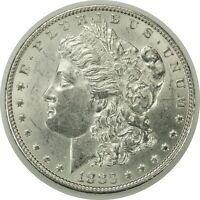1883-P $1 MORGAN SILVER DOLLAR  AU CONDITION   070420