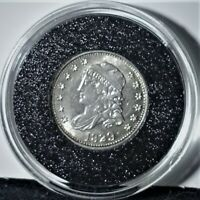 1829 CAPPED BUST SILVER HALF DIME