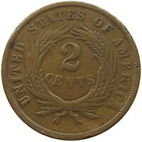 UNITED STATES 2 CENTS 1864   PX 357