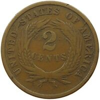 UNITED STATES 2 CENTS 1865   PX 359