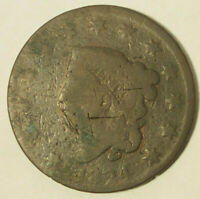 1824 LARGE CENT-CIRCULATED CONDITION