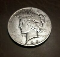 1935-S PEACE SILVER DOLLAR - YOU GRADE -4 RAYS AND ONE MISSING-COMBINED SHIPPING