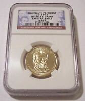 2011 P ULYSSES S GRANT PRESIDENTIAL DOLLAR MINT STATE 67 NGC EARLY RELEASES