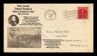 DR JIM STAMPS US BATTLE OF BRADDOCKS FIELD FIRST DAY COVER S