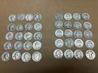 $10 FACE VALUE 90  JUNK SILVER U.S. COIN LOT OF 40 QUARTERS