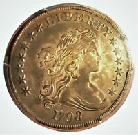 1798 DRAPED BUST DOLLAR LARGE EAGLE