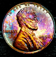 1950-D LINCOLN WHEAT CENT CENT-