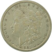 1881-P $1 MORGAN SILVER DOLLAR CIRCULATED AMERICAN COIN AS PICTURED 090720