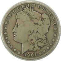 1901-S $1 MORGAN SILVER DOLLAR CIRCULATED AMERICAN COIN AS PICTURED 090720