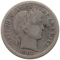UNITED STATES DIME 1902 S T70 625