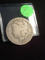 1904-S HARD DATE LOW GRADE DOLLAR SEE MY LISTINGS FOR GREAT SILVER DOLLARS